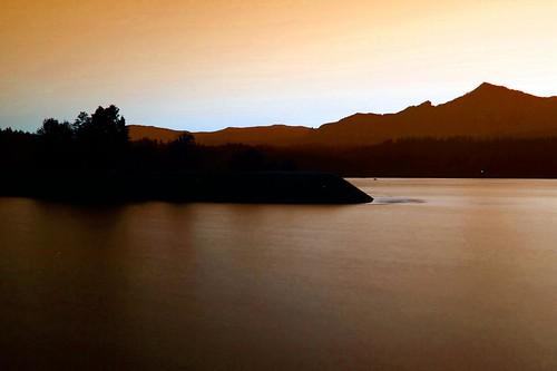 Sunset Near Cascade Locks