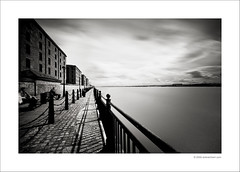 Albert Dock (Ian Bramham) Tags: bw liverpool photography photo nikon long exposure waterfront fineart nd filters albertdock rivermersey d40 ianbramham