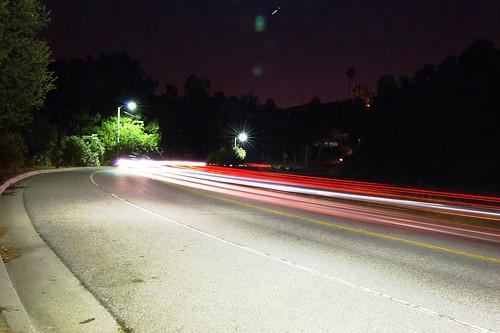 Streetlights.
