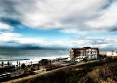 Beachfront blues (ilsebatten) Tags: ocean southafrica hotel indianocean hotels oceans eastlondon htel ocan afriquedusud kennaway htels ocans eastlondonsouthafrica eastlondonbeachfront quigney kennawayhotel