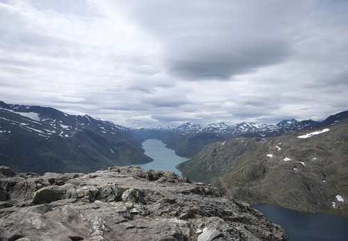 From the top of Besseggen