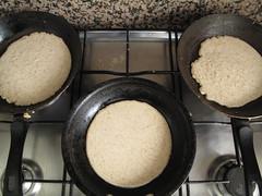 Triple pancakes