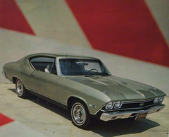 1968 Chevrole Chevelle Malibu SS 396 (coconv) Tags: auto old classic cars hardtop car vintage photo automobile post muscle antique postcard ss ad picture automotive literature chevelle malibu card 1968 collectible collectors brochure coupe advertisment 68 lookmagazine automobilia 396 ss396 chevrole
