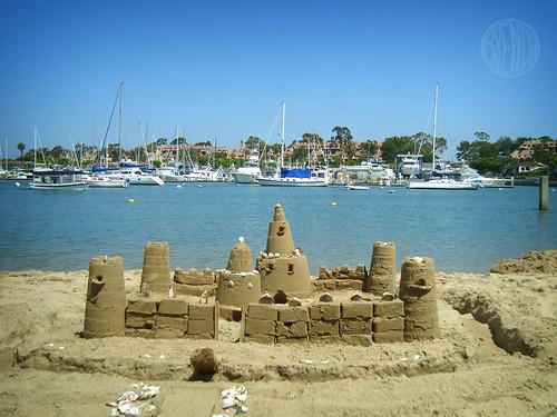 Balboa Island Sand Castle Contest
