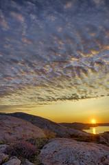 Island sunrise (KoosAkkedis) Tags: sunrise island 24 12 nikkor hdr 1224 d90 lisekil