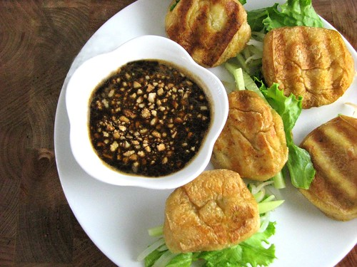 fried tofu tau pok recipe