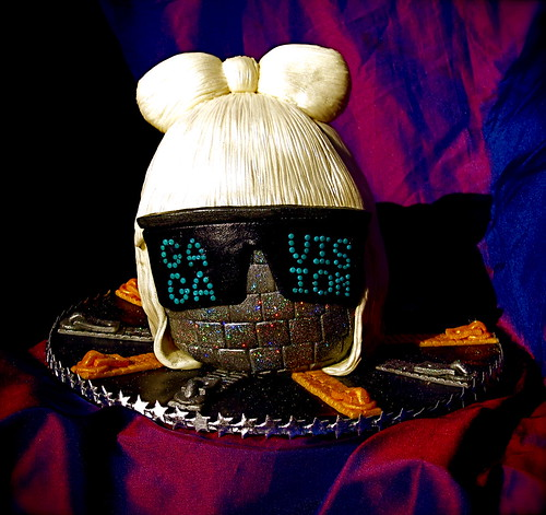 A lady Gaga cake for you. :) HAPPY BIRTHDAY. no votes
