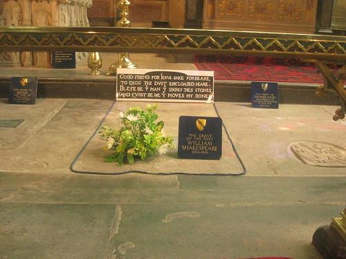 Shakespeares grave
