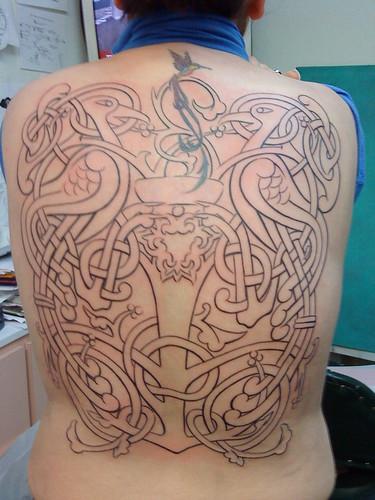 celtic tree of life tattoos. celtic tree of life