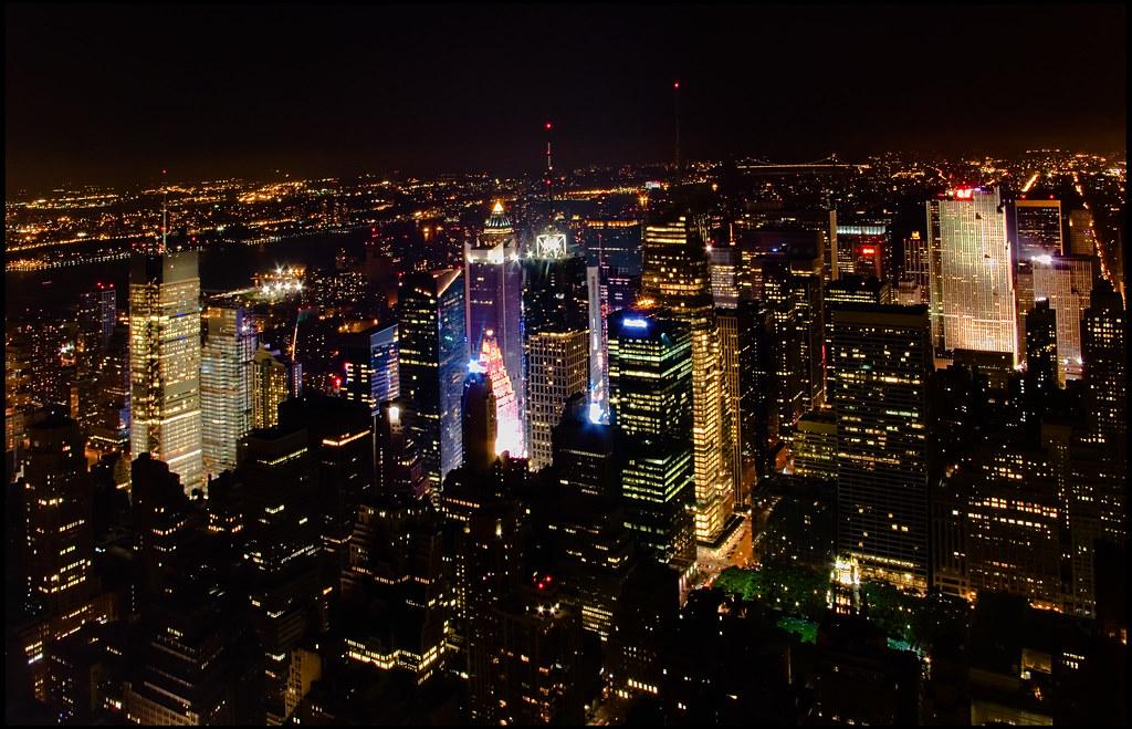 Times Square desde el Empire