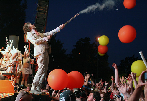 Wayne Coyne of the Flaming Lips at Pitchfork 2009