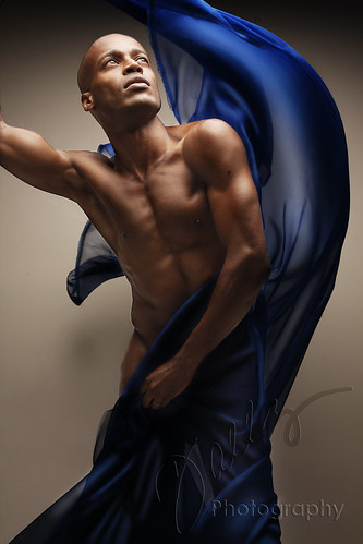 Model:  Paulo Pascoal - The Blue Series