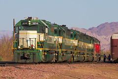 ARZC Moving into Position (K-Szok-Photography) Tags: california canon outdoors desert socal mojave transportation cadiz canondslr locomotives railroads canon70200f4l alltrains deserttrains sbcusa alltypesoftransport arzc kenszok