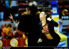 Partido España - Polonia (Berts @idar) Tags: españa basketball spain basket poland zaragoza polonia baloncesto 70200mm espaa canoneos40d robertoruizherrera encanchacom giraeñemanía