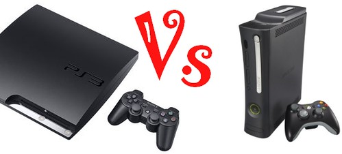PS3 slim Vs Xbox 360 elite