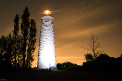 christian island lighthouse (Mike Bingley) Tags: longexposure lighthouse ontario stars georgianbay august christianisland imperialtower christianislandlighthouse