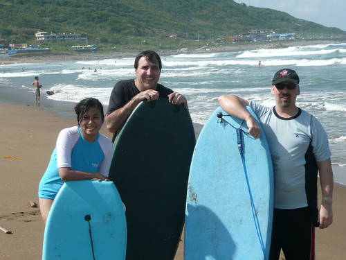 Three Boogie Boarders
