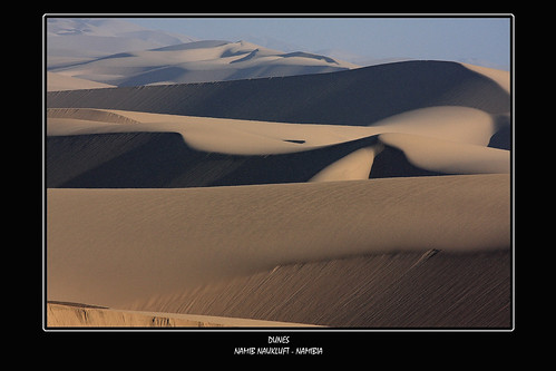 Magic hour in the desert