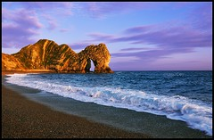 Durdle Door (ujjal dey) Tags: sea beach nature evening nikon dorset cave durdledoor ujjal southengland nikond90 ujjaldey lulworthcave