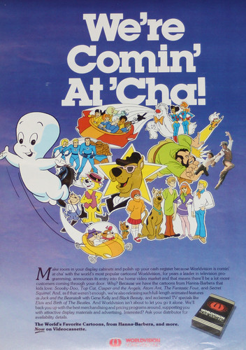 Hanna-Barbera cartoons home video ad, 1982 | Flickr - Photo Sharing!
