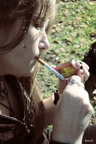 Ligar con la excusa de fumar