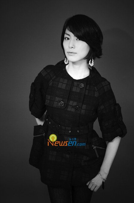 Kim Jung Hwa (김정화) Short Hair Style Photos - beautiful girls
