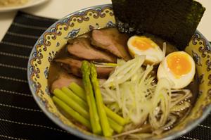 「麺処 田ぶし」のラーメン