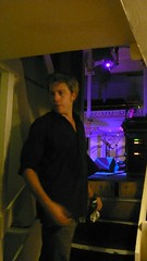 Backstage with Kyle Eastwood (scarboroughjazz) Tags: backstage interview mikegordon timwall andrewdubber williamellis jezcollins kyleeastwoodband