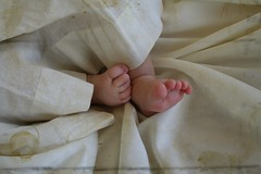 Piggy Toes ('Playingwithbrushes') Tags: sweet grandbaby