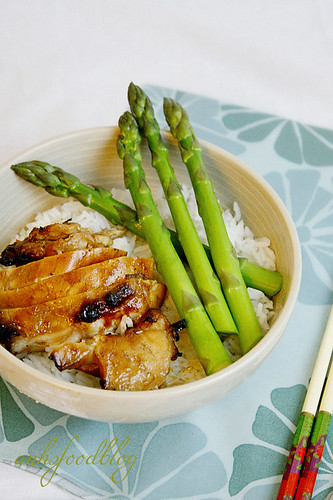 Hoisin chicken rice