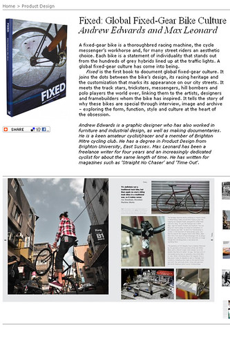 Fixed/Global Fixed-Gear Bike Culture