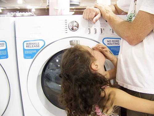7 Days: 1 - appliance shopping
