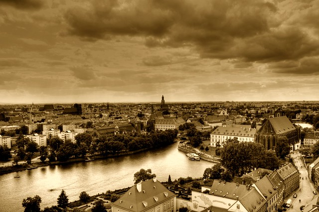 Odra, Wrocław