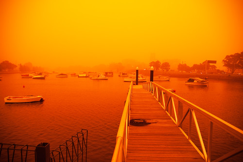 Sydney Dust Storm by David Boehm