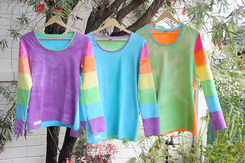 rainbow sleeve mama-size