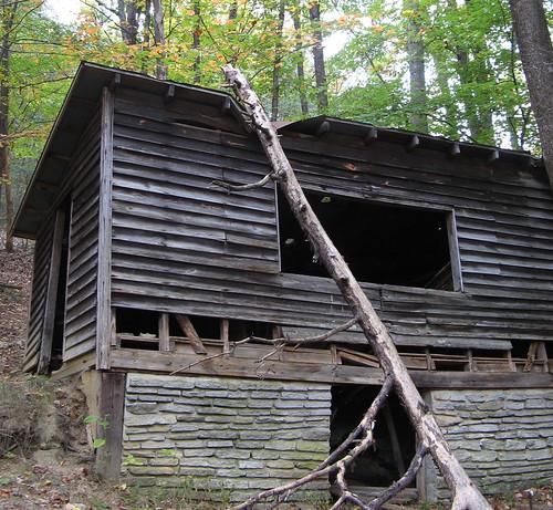 Decrepit cabin