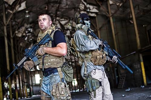 Modern Warfare 2 Fotos Cosplay Soap Y Ghost