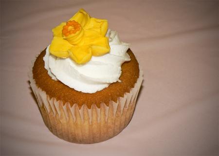 dafadil cupcake frosting star tip royal icing