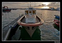 Xeiteiro (Rob Unreall) Tags: grove pontevedra galicia espaa spain xeiteiro mar sea puerto port harbour harbor barco ship boat atardecer sunset rob unreall d300 nikon
