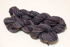 Handspun: 3ply Nightsky