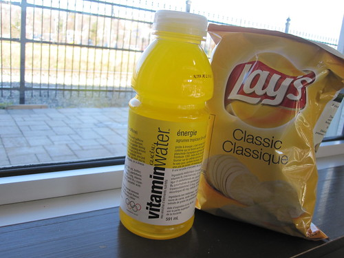 Chips and vitamin water - free
