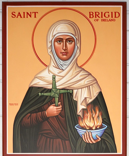 Saint Bridget of Kildare Roman Catholic Church, in Pacific, Missouri, USA - icon