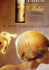 the 1960s-ad for L'oral hairspray (april-mo) Tags: hairspray 1964 vintagead vintagemagazine the1960s 1964ad 1960sad vintageadforhairspray 1960smagazineforwomen 1964magazineforwomen adforloralhairspray