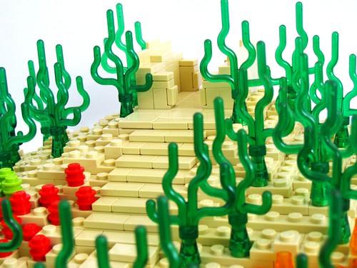 [MOC] Atlantis Pyramid 5811374388_ae00d8932b
