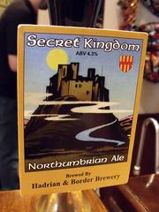 52 beers 3 - 41, Hadrian & Border, Secret Kingdom, England