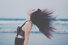 (Bliss Katherine) Tags: contrast hair dream desire thin prettygirl katevictoria blisskatherinebraoudakis