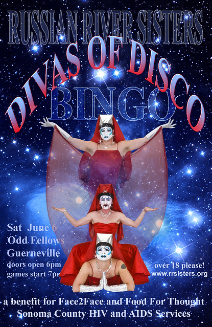Divas of Disco Bingo  11x17