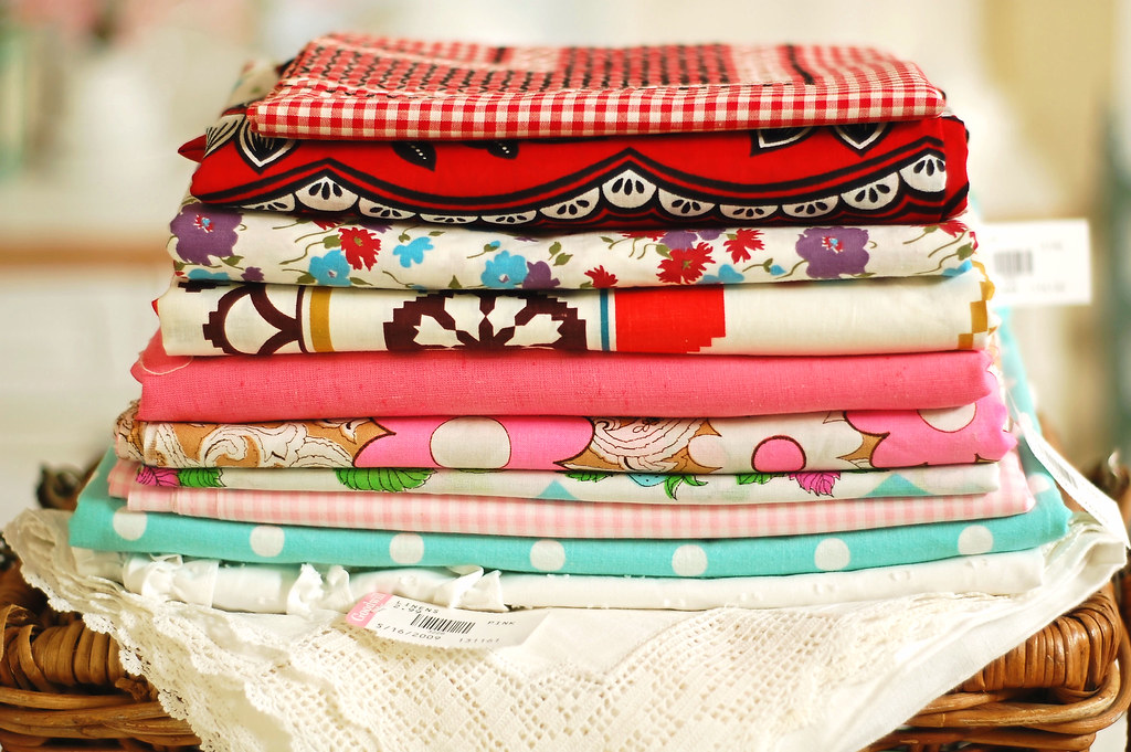 Thrifted Fabric Stack