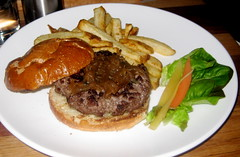 Martin's West in Redwood City - Organic burger