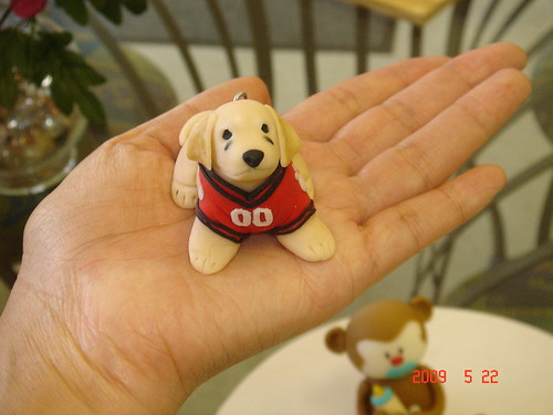 Fondant puppy from 'Air buddies'
